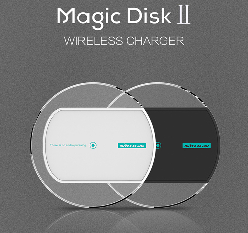 Original Nillkin Magic Disk 2 QI Stand Wireless Charger Dock Pad iPhone 6 Samsung S6 Edge Note 4 Lumia 930 1520 Nexus 5 - Fashion Crystal Phone Case Store store