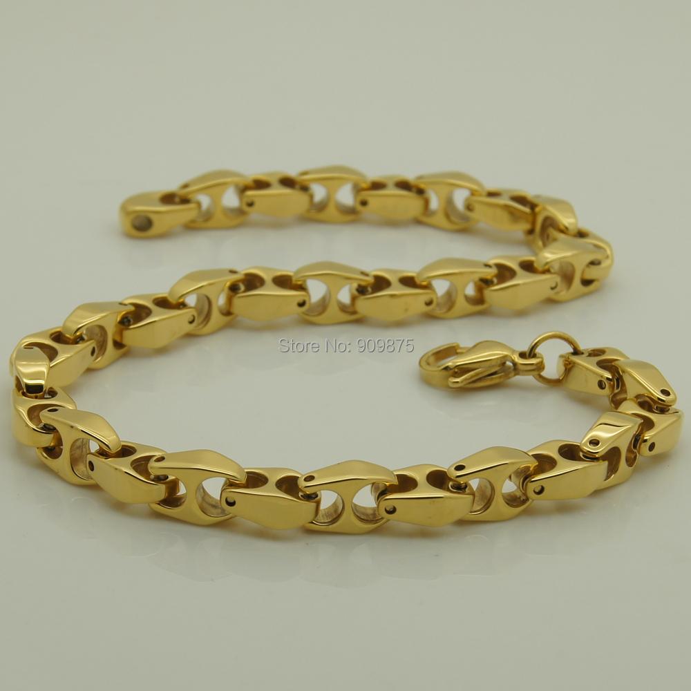 ipg vacumm ion gold plating 6mm width women/men jewelry hi-tech tungsten bracelet(China (Mainland))