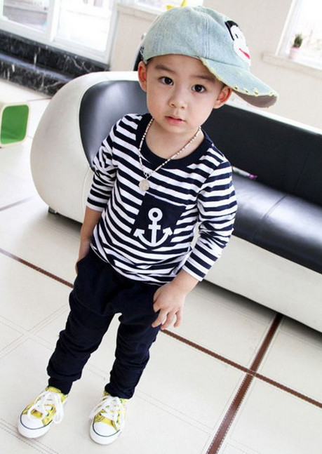 Baby boy clothes 2015 Brand baby clothes sets t-shirt+pants suit baby girl Clothes bebe newborn sport suits free shipping(China (Mainland))