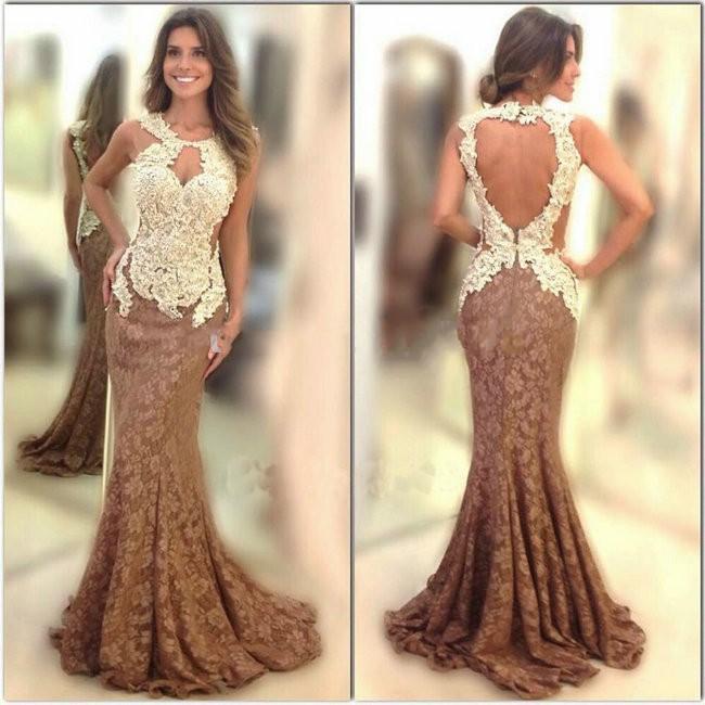 Online Get Cheap Chocolate Evening Dresses -Aliexpress.com ...