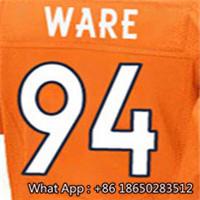 Men's #7 John #10 Emmanuel #18 Peyton #58 Von #88 Demaryius #94 DeMarcus Football Jersey 100% Stitched Customized(China (Mainland))