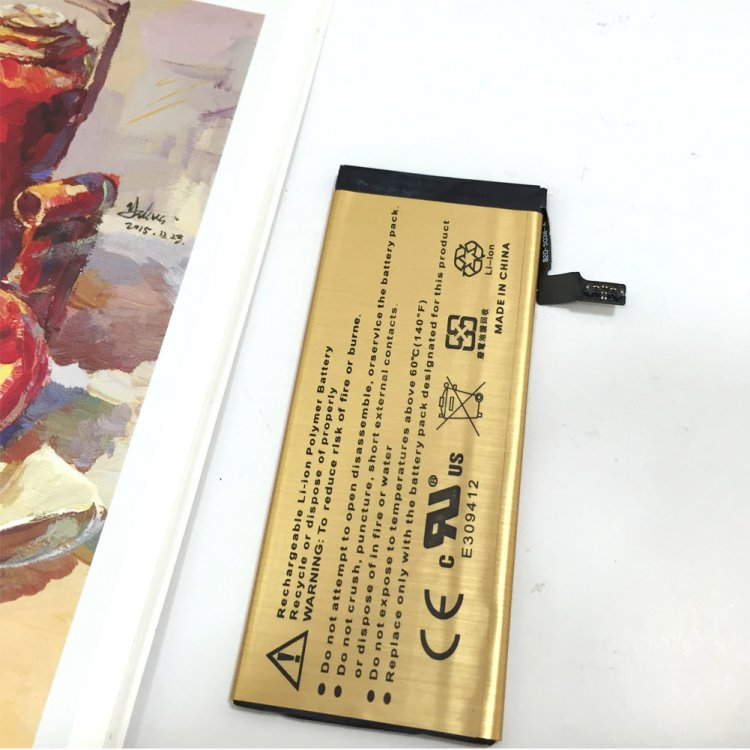 2016 Newest For Apple iPhone 6 6G Battery brand new high quality gold built-in inner replacement li-ion battery with tools