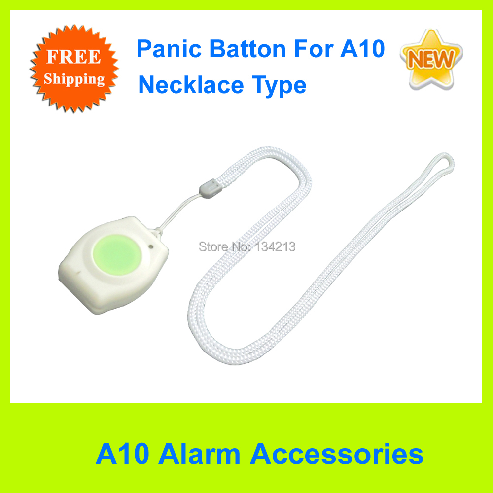 Free Shipping Necklace Type WaterProof Panic Button/SOS button For A10/A11 GSM Elderly Guarder(China (Mainland))