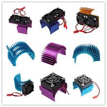 Алюминиевый Сплав Мотор Радиатора Со 550 540 Охлаждения Двигателя Для HSP HIMOTO REDCAT Rc1: 10 Модель Автомобиля и его Частей