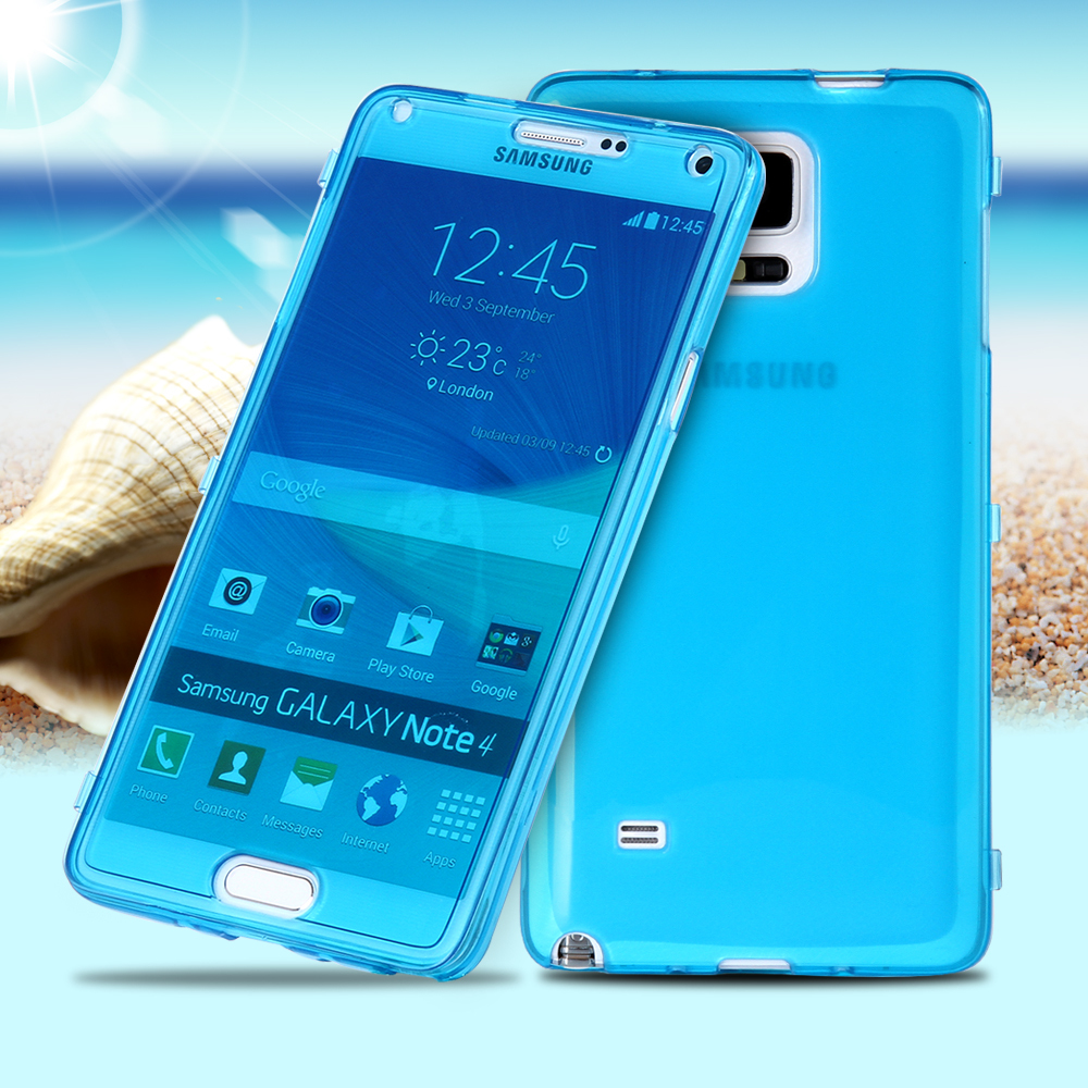 For Samsung Note 4 Case Ultra Thin Transparent Clear Soft Case For Samsung Galaxy Note 4 Flip TPU Phone Cases Cover For Note4(China (Mainland))