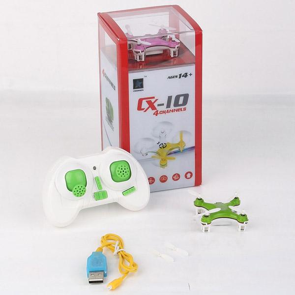 Cheerson cx-cx10 partita casalinga 2.4g giocattoli di telecomando 4ch 6 assi rc quadcopter mini rc elicotteri radio control aerei rtf drone(China (Mainland))