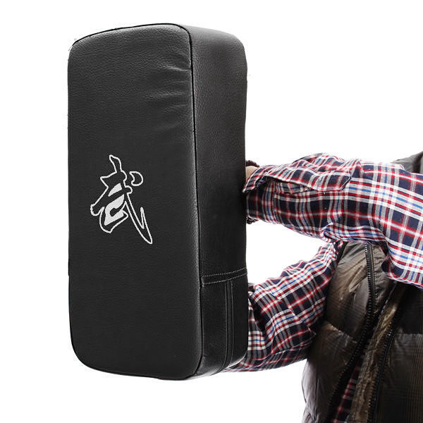 Hot selling PU Leather Taekwondo MMA Boxing Kicking Punching Pad TKD Training Gear Sanda /Fighting/ Muay Thai Foot Target New(China (Mainland))