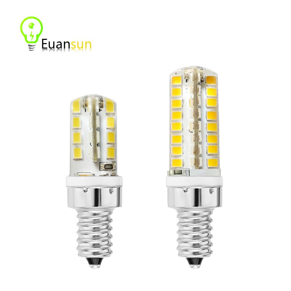 E14 LED Bulb 5W 9W AC 220V COB LED E14 Spotlight Cold Warm White Ultra Bright LED Lamp for Crystal Light Corn Light Bulb(China (Mainland))