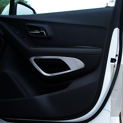 car interior door storage box sticker door armrest hole decoration fit for opel vauxhall mokka. Black Bedroom Furniture Sets. Home Design Ideas