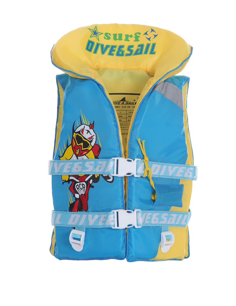 2016 Best Selling Nylon Surfing Diving Life Jacket for Kids Water Sports Safely Jackets Boys Surfing Drifting Survival Life Vest(China (Mainland))
