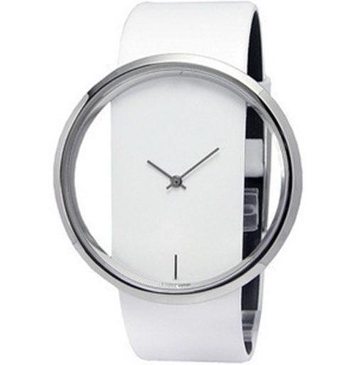 Гаджет  2015 Charming New arrivla Women Leather Transparent Dial Succinct Sport Quartz Watch Gift Wristwatch For Women Men None Часы