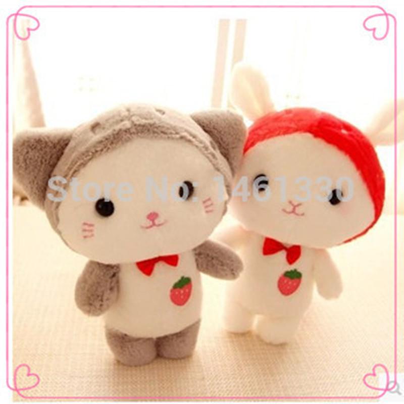 Mini plush animals lamb bunny small teddy bears baby toys sheep plush toy factory direct teddy bears bulk interactive toys(China (Mainland))