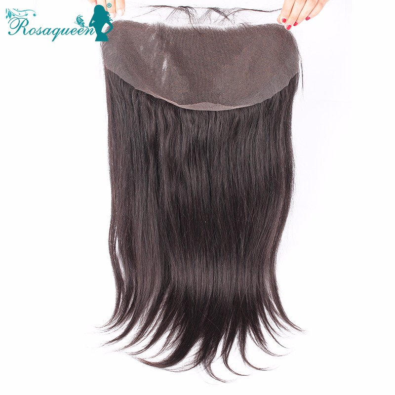 Brazilian Lace Frontal Closure 13x6 Straight Ear To Ear Lace Frontals With Baby Hair Virgin Human Hair Full Frontal Lace Closure