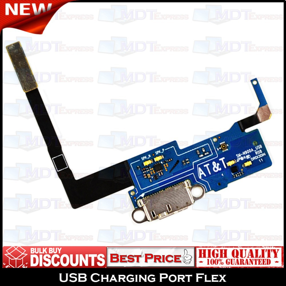 New! USB Charging Charger Port Dock Connector w/ Mic Flex Ribbon Cable for Samsung AT&T Note 3 III SM-N900A N900A SM-N900W8(China (Mainland))