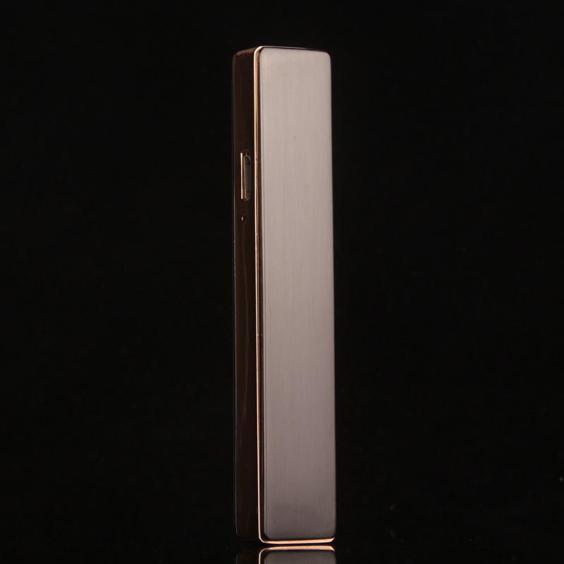 ถูก 2016แฟชั่นแปลกยาสูบอิเล็กทรอนิกส์ไฟแช็กซิการ์u rechargeable usbไฟแช็คสีขาวflamelessแบรนด์ขายส่ง