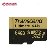 Transcend Real 32GB 64GB MicroSD MicroSDHC MicroSDXC Micro SD SDXC SDHC Card 95MB/S class 10 633X UHS-1 U3 UHS-I TF Memory - AE- FQY Data Store store