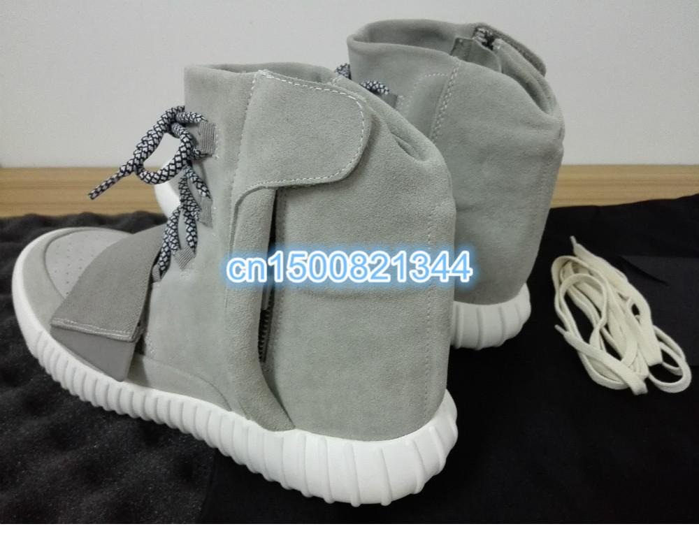 DHL Free Shipping, Kanye West Yeezy 750 Shoes, New Designer Handmade Boots, WithoutBox(China (Mainland))