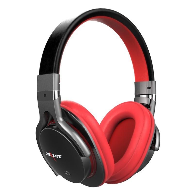 ถูก คลั่งB5บลูทูธหูฟังสเตอริโอไร้สายหูฟังบลูทูธ4.1หูฟังชุดหูฟังพร้อมไมโครโฟนสำหรับip honeสำหรับS Amsung