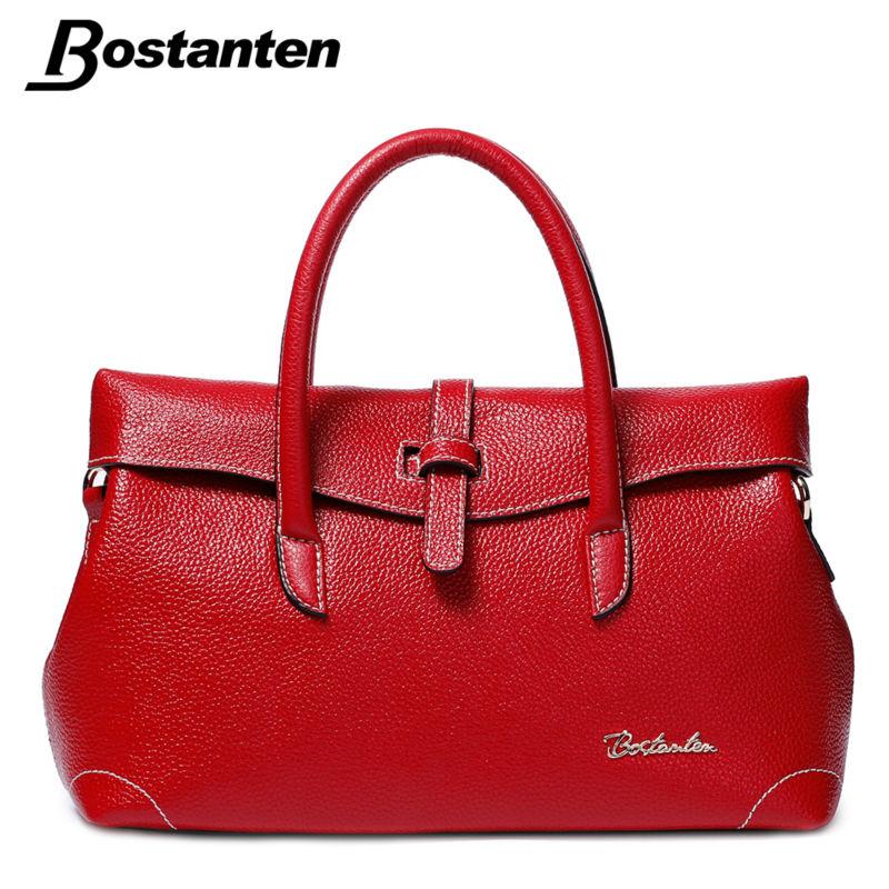 Bostanten Woman Bags 2016 Handbag Fashion Handbags Leather Women Handbag High Quality Famous Brand Shoulder Messenger Bag Totes(China (Mainland))