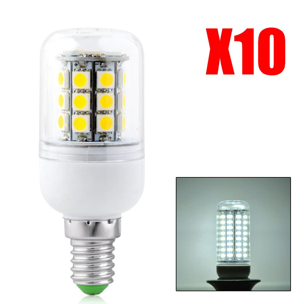 10pcs/pack 5050 SMD E14 9W 11W 12W 13W 15W LED Lights Corn Led Bulb Chandelier Candle Lighting Home Decoration EB6735(China (Mainland))