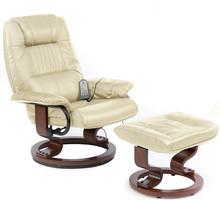 Japan Deluxe Leather Sofa  Recliner and Ottoman With 8-Motor Massage & Heat Electric Modern Leisure Lounge Ergonomic Game Chair(China (Mainland))