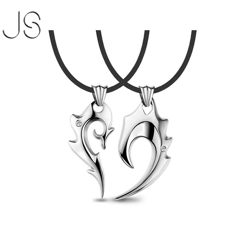 Broken Heart Couples Necklace Broken Heart Necklace For