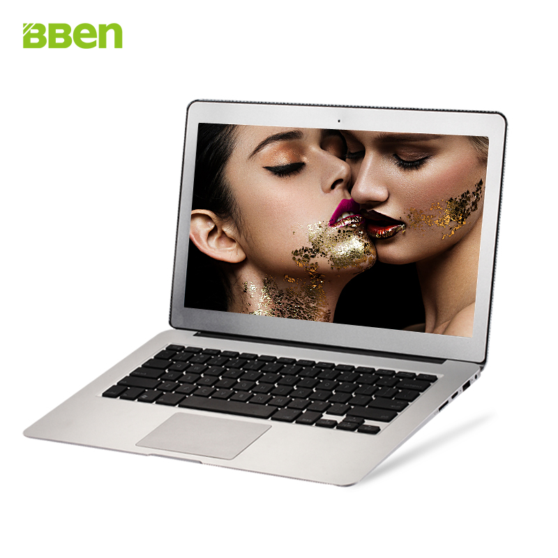 13.3 inch Gold sliver color windows 10 system laptop notebook netbook computer 2gb ddr3 ram 64gb rom ssd in-tel i3 cpu core(China (Mainland))