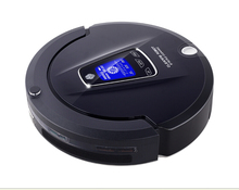 (Free to Russia)2015 New Multifunction Robot Vacuum Cleaner(Sweep,Vacuum,Mop,Sterilize),LCD,Schedule,2Way VirtualWall,SelfCharge(China (Mainland))