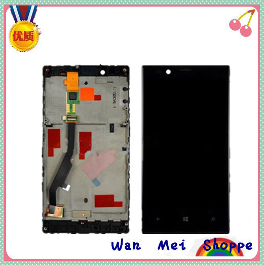 Glass LCD Display Touch Screen Digitizer Frame Assembly Replacement For Nokia Lumia 720(China (Mainland))