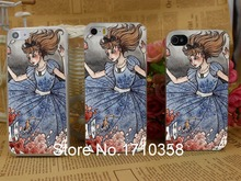 alice wonderland art hellip Hard Transparent Clear Back Style Case Cover iPhone 5 5s 5c 4 4s - BEST phone case store