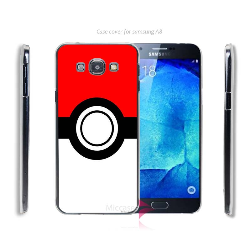 pokemons mask cool Hard Transparent Clear Case Cover for Samsung Galaxy A3 A5 A5100 A7 A7100 A8 A9(China (Mainland))