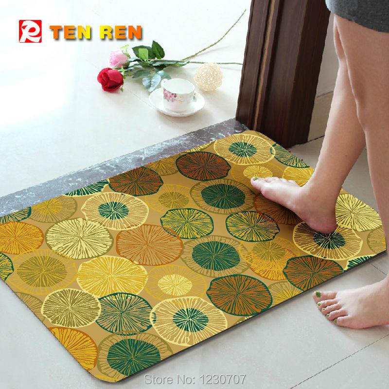 Delicate Anti Slip Floor Mat Door Mat141 Charpet Rug Kitchen Bedroom Pad Hot Selling natural rubber - TEN REN Rubber Products Factory store
