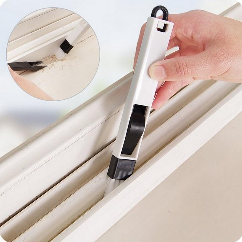 Mini Desktop Window Groove Computer Keyboard Nook Cranny Dust Shovel Window Track Cleaner Tools Brooms Dustpans Combination Sets(China (Mainland))