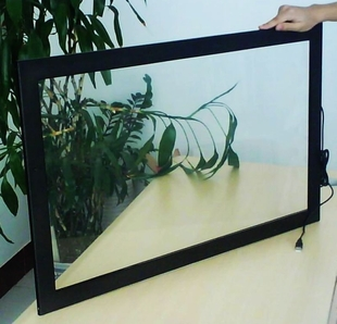 Promotion! 46 inch real 4 points usb multi lcd touch panel without glass for shop window(China (Mainland))