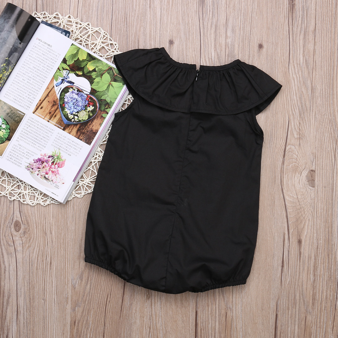 Fashion Casual Baby Girls Kids Clothes Romper Playsuit Jumpersuit Outfit Sunsuit