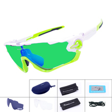 Buy Brand NEW Polarized Cycling Sunglasses Mountain Bike Goggles 3 Lens Sport Eyewear MTB Bicycle Running Cycling Glasses for $12.34 in AliExpress store