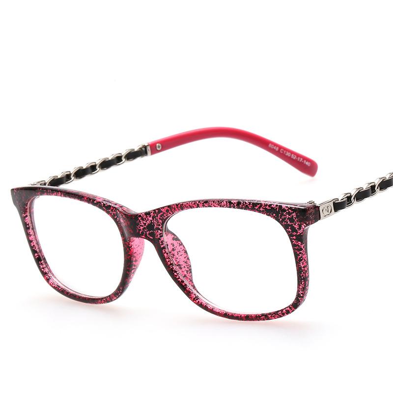 2015 new big frame fashion glasses Korean plain glasses Band Eye glasses clear lens reading eyewear oculos Gafas de sol(China (Mainland))
