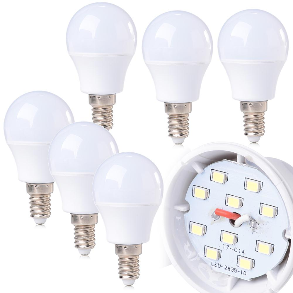 6X/10X CE LED Bulb 3W E14 220-240V Globe Angle Light Cool White Saving Lamp LD379A LD379B(China (Mainland))
