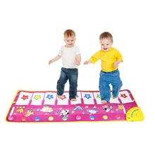 Animal Pattern Baby Touch Play Keyboard Musical Toys Music Carpet Mat Blanket Early Education Tool Toys(China (Mainland))