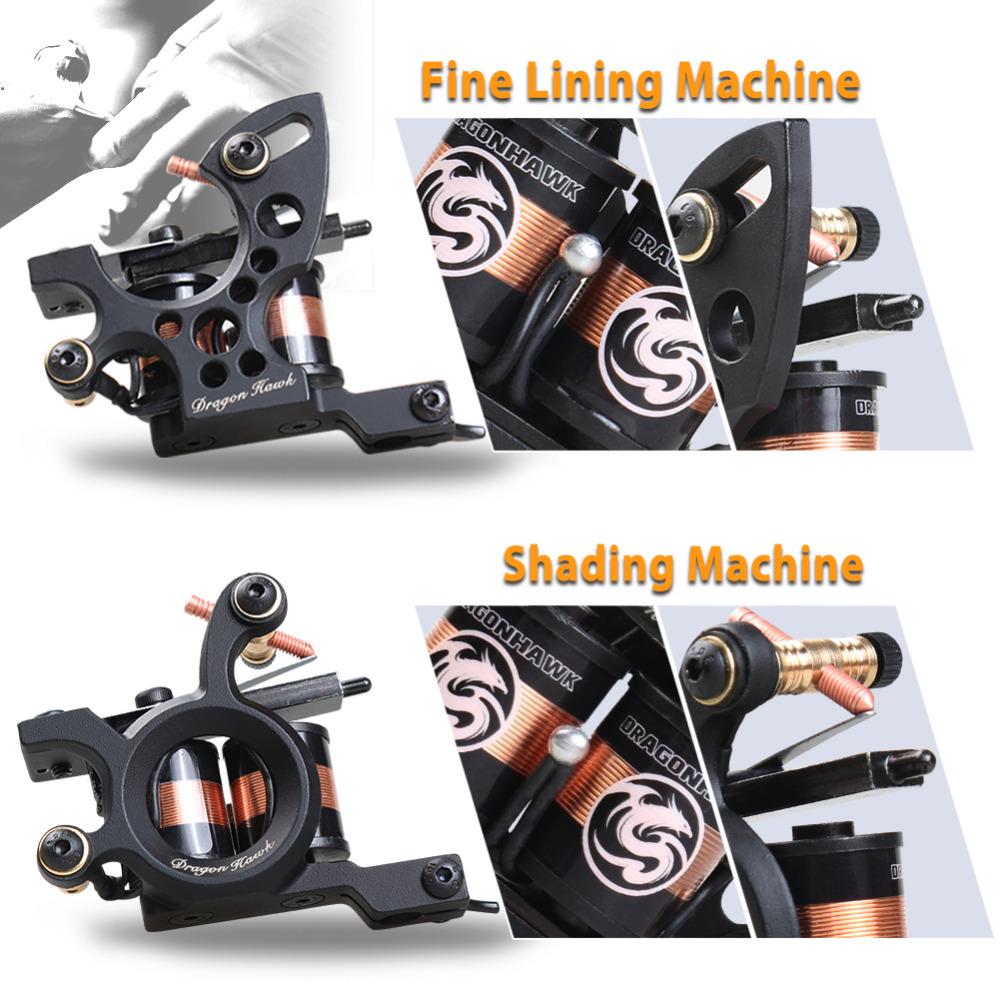 HTB1uHxjQVXXXXXfXXXXq6xXFXXXy - Professional Tattoo Kit Machine 4 Style Guns Set With Disposable Needles Gift