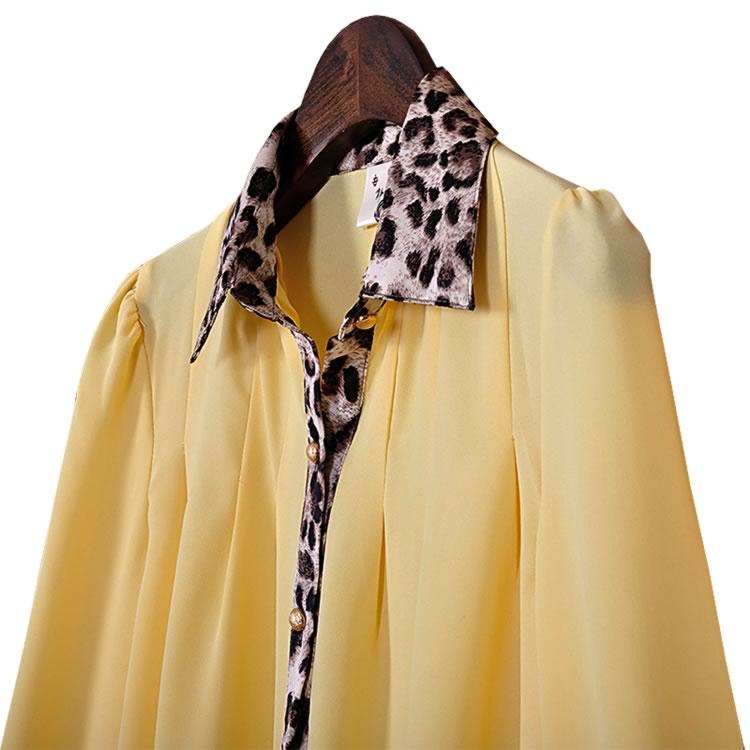 Moda gasa de la ropa 2014 para mujer del verano blusas mujeres bluse