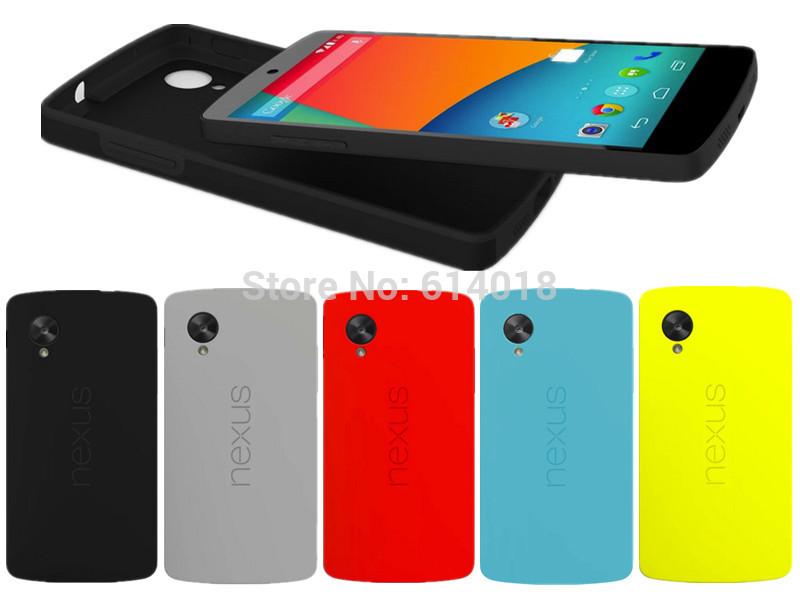 For LG Nexus 5 Bumper Case,Official Cover For Google Nexus5, Free Screen Protector, Same as Original Free Shipping(China (Mainland))