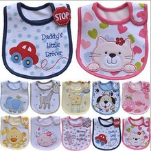Baby Bibs Bandana Bibs Cotton Small Bib Carters Animal Shaped Waterproof Slobber Towel