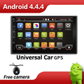 Quad Core 7 INCH 2 Din Android 4 4 Car Audio Non DVD Stereo Radio GPS