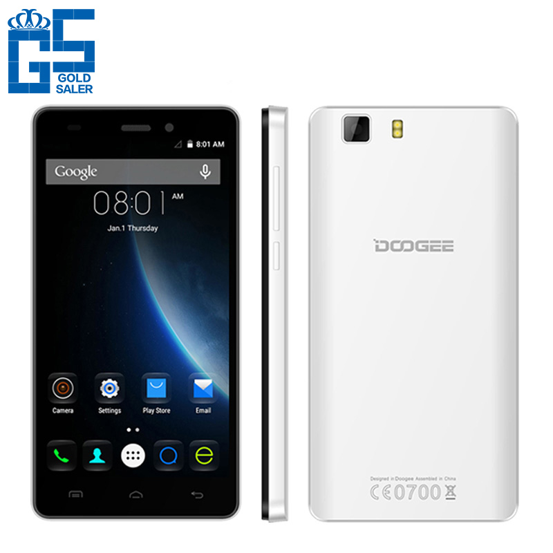 2016 Newest Original Doogee X5S Android 5.1 MT6735 Quad Core 5.0 inch Mobile Phone Unlocked GSM/WCDMA/LTE Dual SIM Smartphone(China (Mainland))