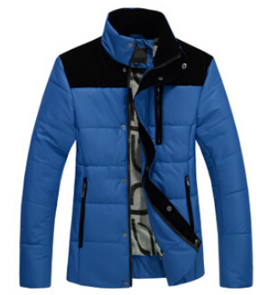 Winter duck down jacket men 2015 winter wear down cotton padded jacket new men s fashion