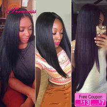 Grade 7A Peruvian Virgin Hair Straight 100% Virgin Peruvian Straight hair 3 bundles Princess Hair Peruvian Human Hair Weaves