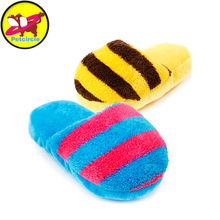 Petcircle hot sale pet dog toys slippers plush dog toys for chihuahua yorkshire 6 colors puppy dog tou squeaky chew pet products
