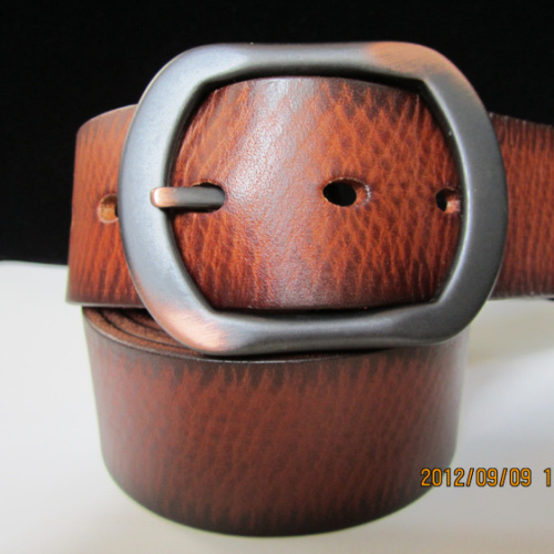 Male genuine leather strap fashion vintage jeans belt first layer of cowhide casual all-match belt