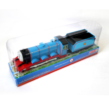 T0b Electric Thomas and friend Gordon wtih a carriage Trackmaster engine Motorized train Chinldren kids toys with package(China (Mainland))